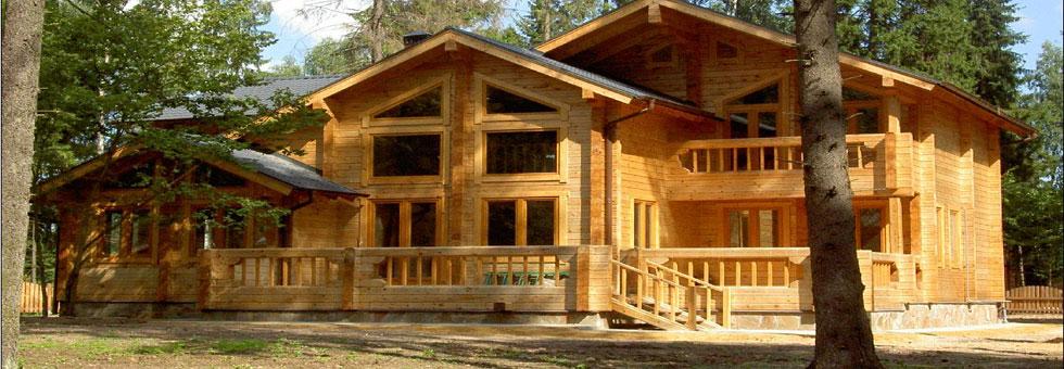 Строительство домов бань из бруса и